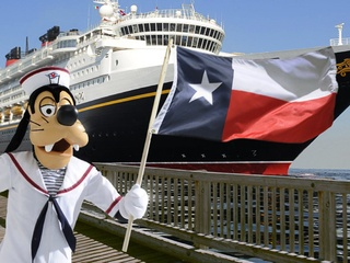 Disney cruises, Goofy, Galveston
