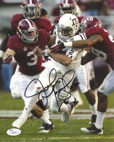 Johnny Manziel autograph