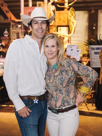 9 Houston Cattle Baron's Ball April 2013 Kent Chenevert and Debbie Chenevert