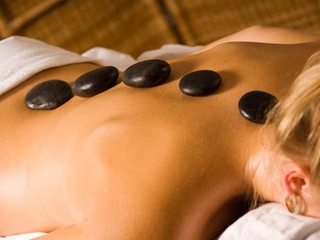 Hot stone massage at Zen Garden Massage Therapy in Richardson