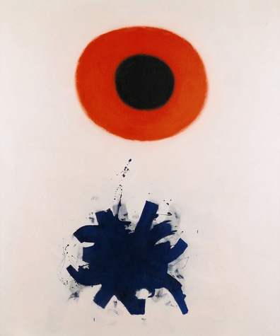 'Red and Blue' by Adolph Gottlieb