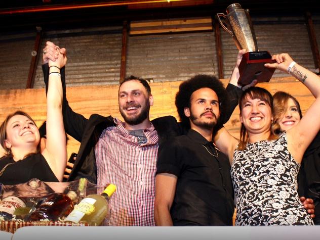 Drink of Austin_Garage cocktail bar_Chauncy James_Indian Paintbrush_2015