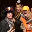 Nicholas and Kristin Johnson, from left, Lindsey Schultz and Craig Mckenna at Hotel ZaZa's Halloween Bash November 2014