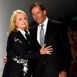 Fashion Week spring 2015 Designer Pamella Roland and her husband Daniel DeVos
