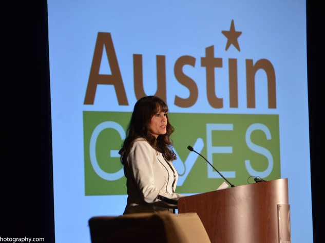Austin Gives' 3rd GeneroCity Awards Olga Campos-Benz