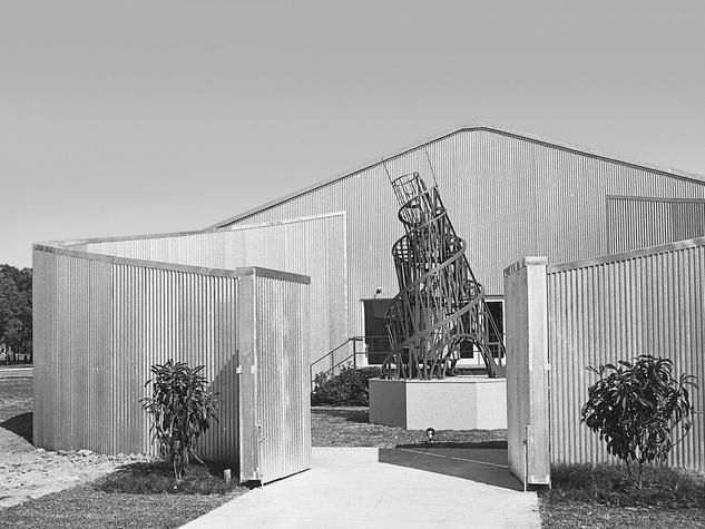 Art Barn Menil Rice University Media Center Museum