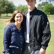 1 Krystal Crane Thompson and Jared Crane at the Children's Museum Spring Golf Classic April 2014