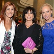 Anita Chanon, Lori Alhadef, Carol Aaron and Linda Cooperm woman to woman luncheon