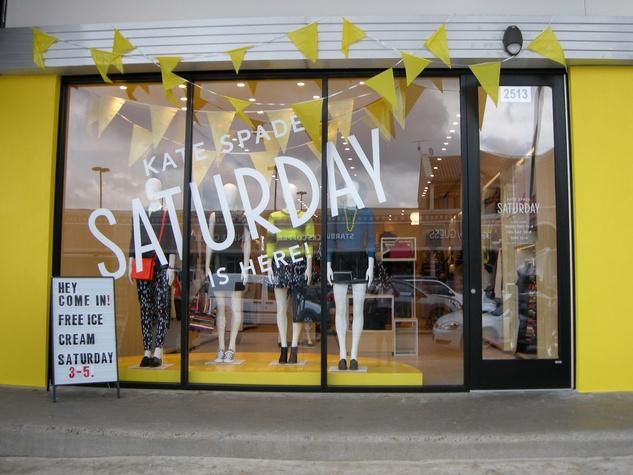 10 Kate Spade Saturday Rice Village store September 2013 exterior day