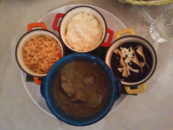 Cuchara, Mexican food, meal, rice