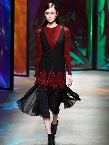 Clifford New York Fashion Week fall 2015 Thakoon April 2015 Look25
