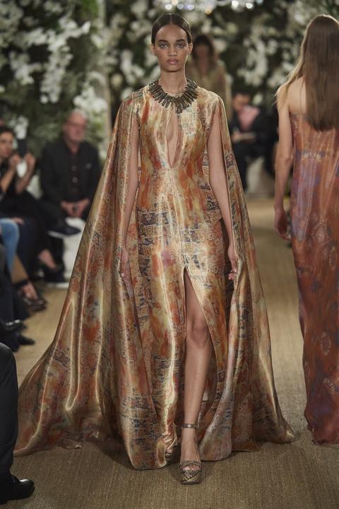 Ralph Lauren fall 2017 gown look 35