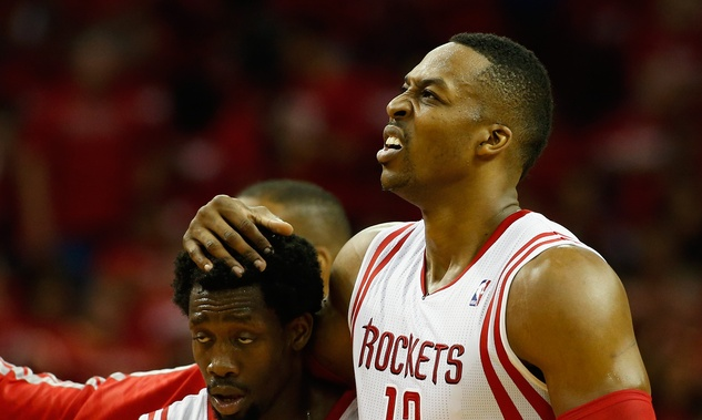 Dwight Howard Patrick Beverley upset
