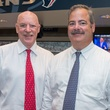 7 Bob McNair, left, and Cal McNair at the Houston Texans Owner's Suite party at NRG Stadium September 2014