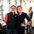 Zach Russell and Rachel Sawyers at the Lawndale Gala and Retablo Silent Auction October 2013