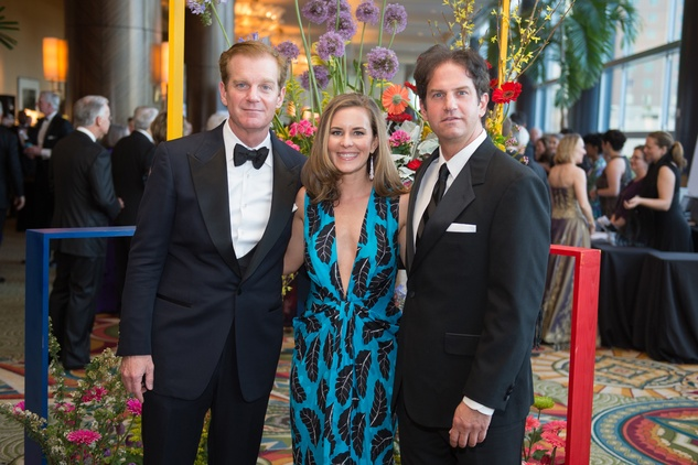 Symphony Ball, May 2015, Steve and Jennifer Dolman; Bill Dolman