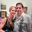 Julia and Vesa Koivumaa at the Lawndale Gala and Retablo Silent Auction October 2013