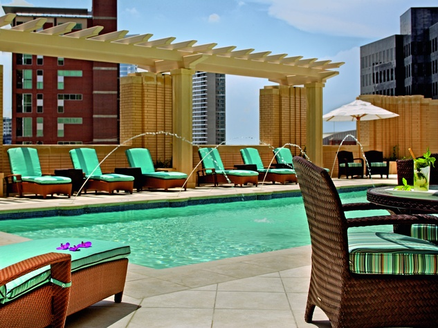 Pool at the Ritz-Carlton, Dallas