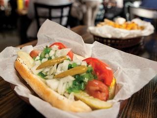 Frank restaurant Austin chicago hot dog LANDSCAPE CROP