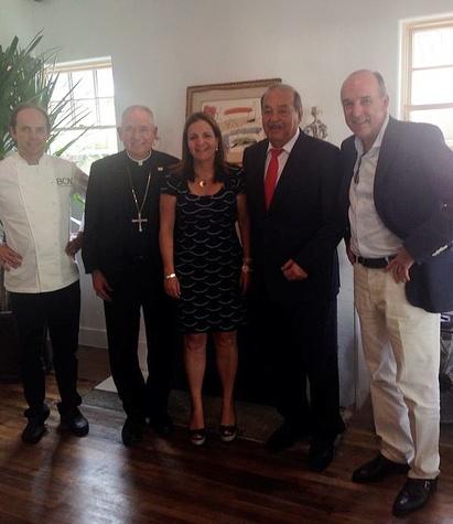 BCN Taste and Tradition Luis Roger Jose Gomez Carlos Slim Ignacio Torres