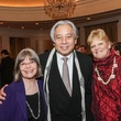 Susan Young, from left, Keiji Asakura and Gwendolyn Goffe at the Center for Houston's Future dinner November 2014