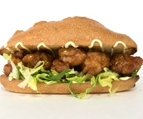 General Tso'Boy Austin restaurant General Tso's chicken sandwich