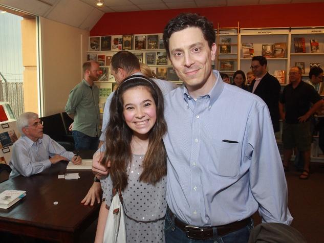 Caitlin Berg, Geoff Berg at David Berg book signing June 2013
