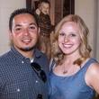 Roberto Pereira, Amanda Pereira at Carry The Load fundraiser dinner at Pecan Lodge