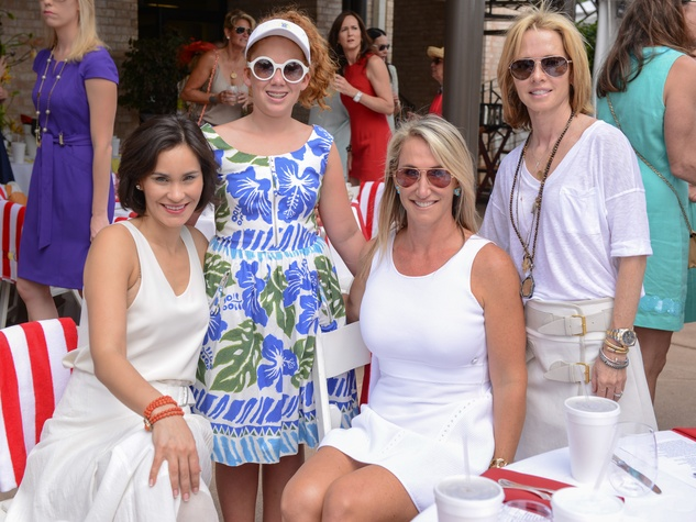 23 NAMES at the River Oaks Tennis Tournament luncheon April 2015