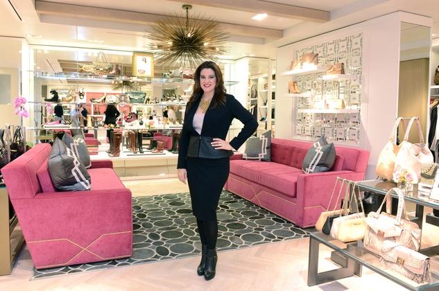 Elaine Turner in New York store