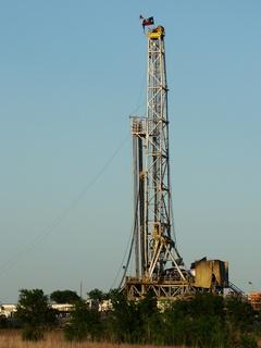 Drilling in the Barnett Shale