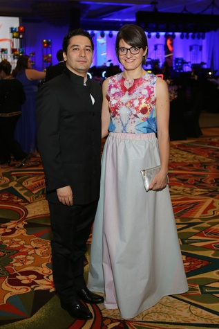 Symphony Ball, May 2015, Andrés Orozco-Estrada and Julia Orozco-Estrada