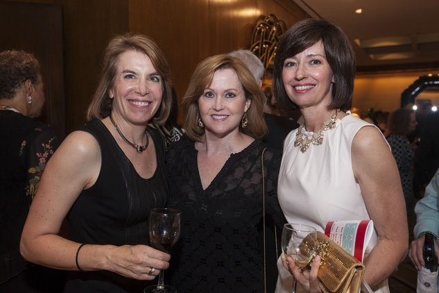Susan Schmaeling, from left, Blake Quinn and Andrea Aubin at the Eye Care for Kids benefit May 2014
