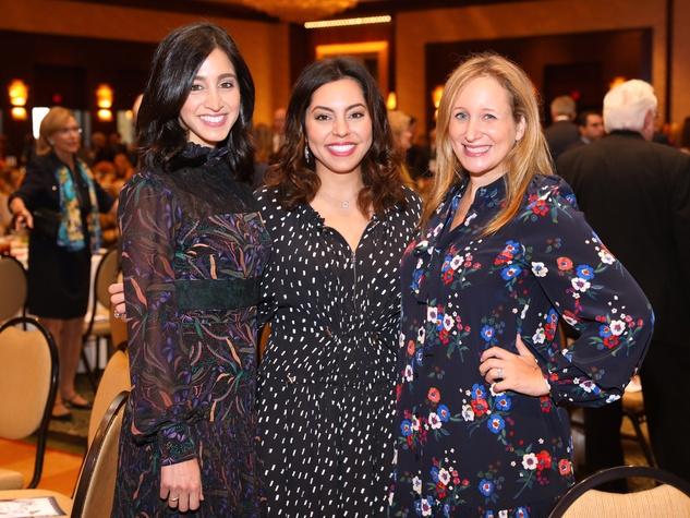 Houston, University of Texas at Austin Guardian of the Human Spirit Award Luncheon, November 2017, Holly Radom, Nicole Katz, Erin Slosberg