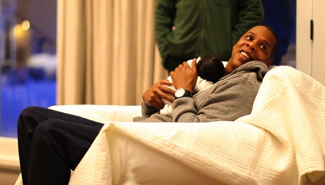 Jay-Z & Blue Ivy