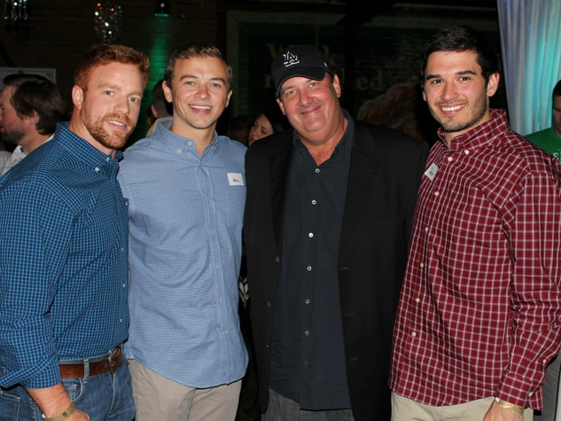 Kris McConniel, Wes Woods, Brian Baumgartner, Taylor Woodson, Reilly's Whiskey