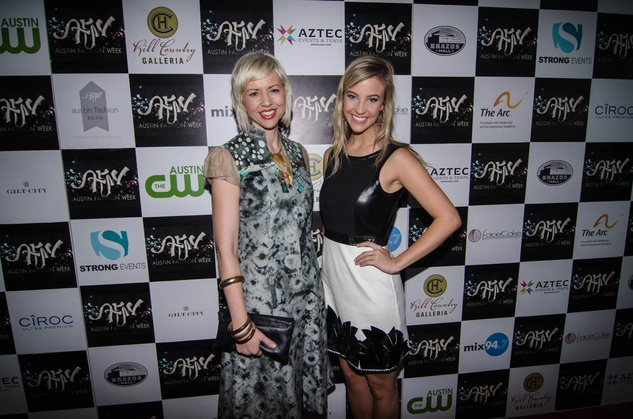 AFW Award show Kirsten Dickenson and Katie Callison