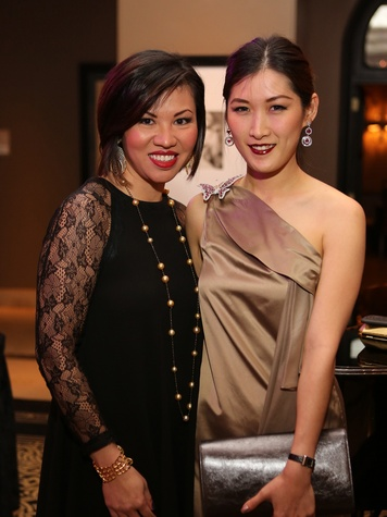 319 Annie Nguyen-Tan, left, and Tana Tongsirkul at Catwalk for a Cure November 2013