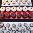 4 Sprinkles Cupcake booth cupcakes at Taste of the Texans November 2013