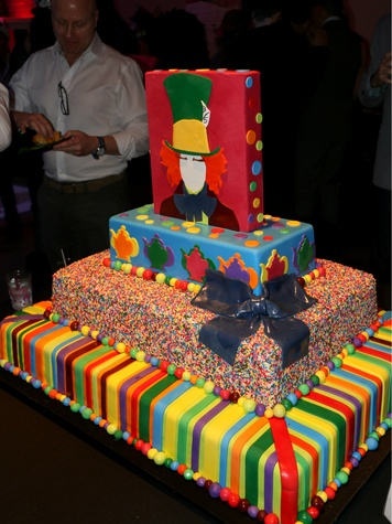 Mad Hatter cake by Frosted Art