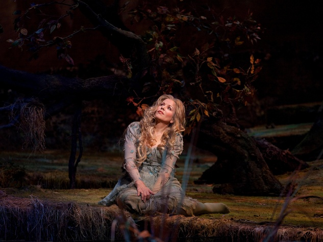 Renee Fleming in Dvorak opera Rusalka