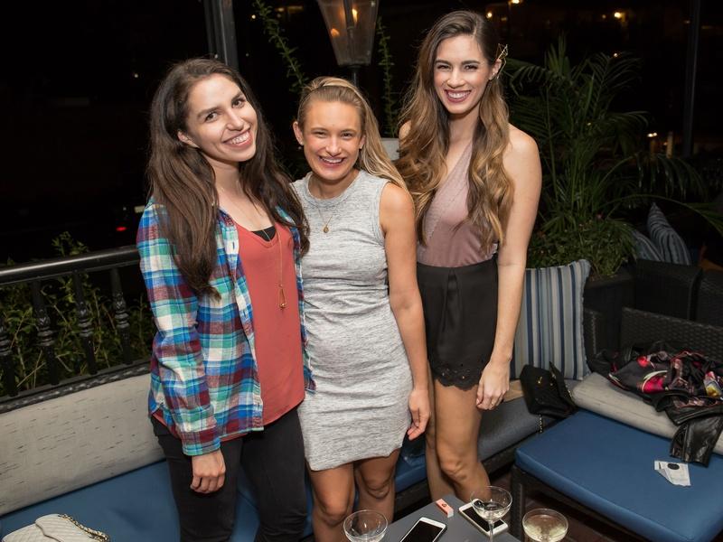 BumbleBFF party at Sophia's October 2016 Kirby Orosco Rachel Holtin Hilary Rose