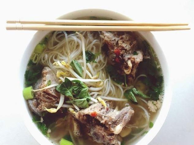 PhoNatic restaurant Austin pho noodle soup