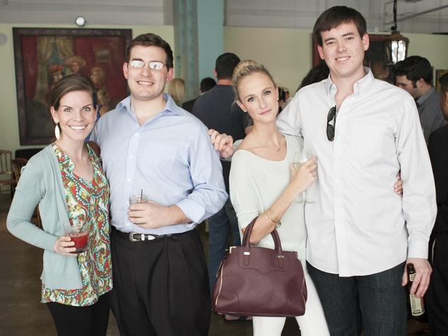 Claire Price, Micheal Price, Mave Halloran, Garrett Wallace, CultureMap Dallas Tastemaker Awards