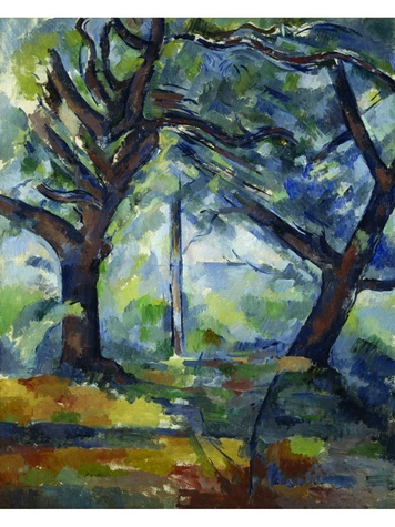 Paul Cezanne, The Big Trees
