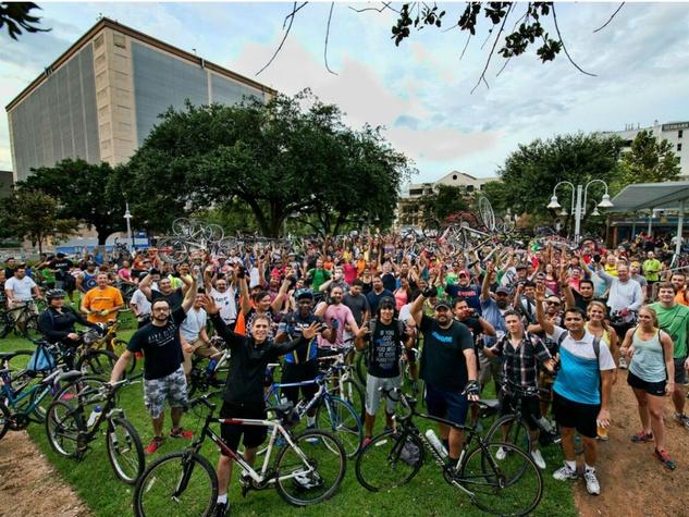 Downtown District presents Bayou Bikers