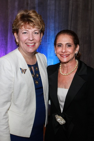 News, Shelby, Holocaust museum luncheon, Nov. 2015, Kelly Zuniga, Gail Klein