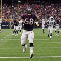 Lamar Houston's touchdown kept Texans in the game against Indianapolis Colts