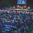 West, Texas, memorial service crowd April 2013