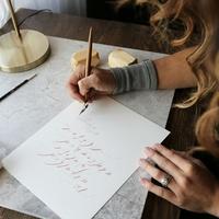 UO DIY: Modern Calligraphy